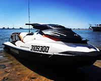 Seadoo GTI rady for action!